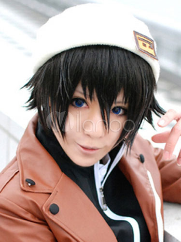 The Future Diary Amano Yukiteru Cosplay Wig  Halloween