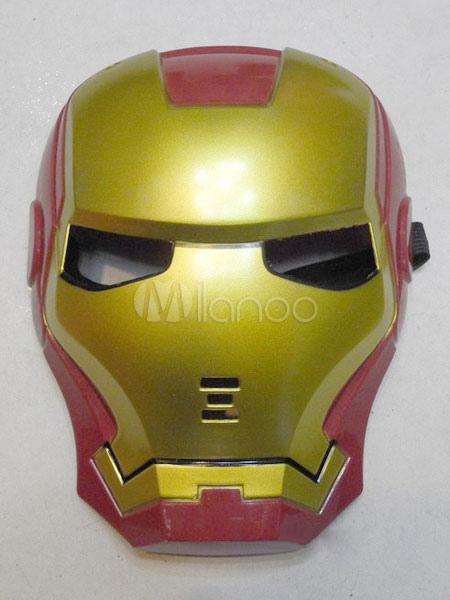 Halloween Red Iron Man Mask Costume Halloween