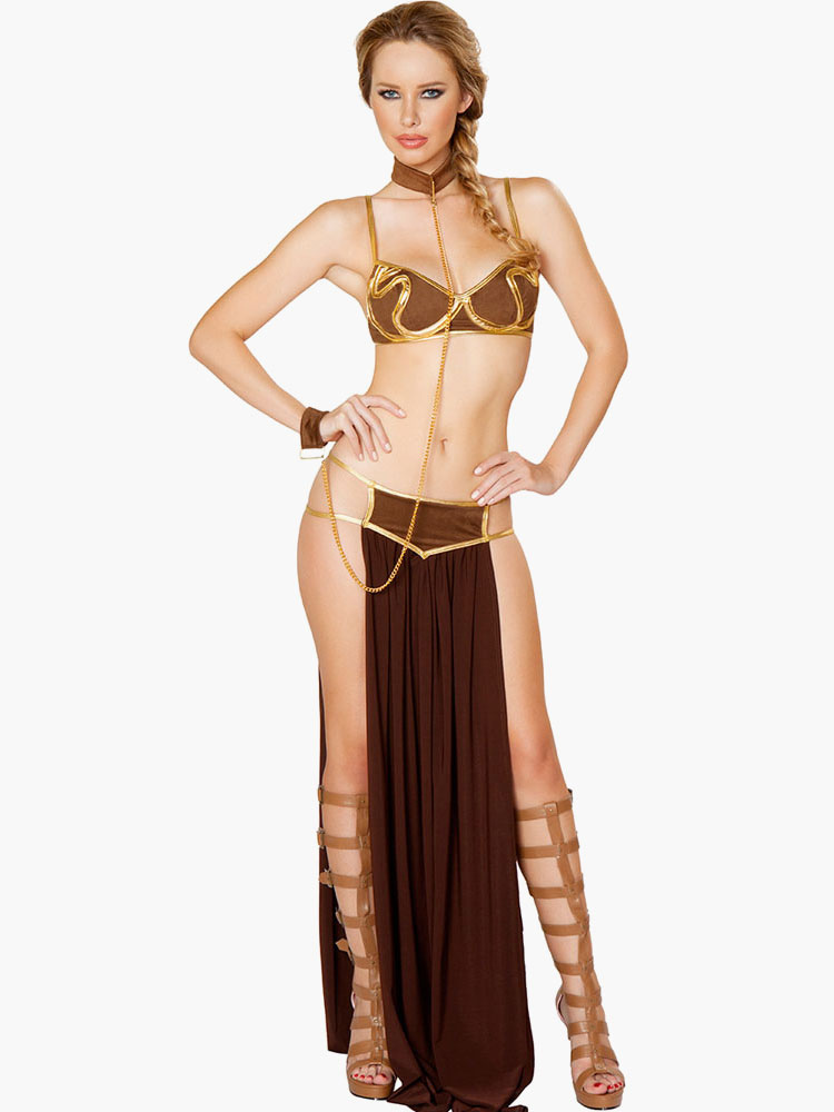Deluxe Space Slave costume Cheap clothes, free shipping worldwide