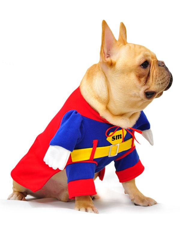 ... Halloween Dog Costume Superman Red Pet Costumes Halloween-No.2  sc 1 st  Milanoo.com & Halloween Dog Costume Superman Red Pet Costumes Halloween - Milanoo.com