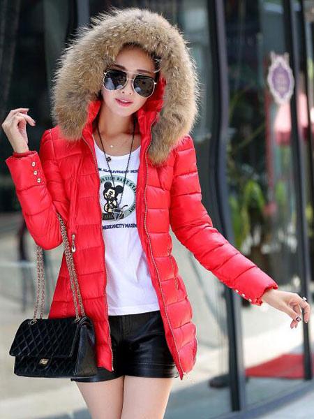 De Cuero Mujer Roja Cuero Rojo Affordable Chaqueta Isaco Cazadora ngUzw6