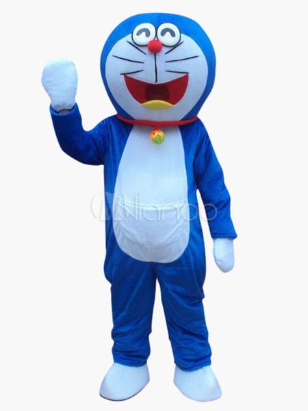 più recente 92bb6 64f79 Doraemon gatto blu mascotte per Carnevale