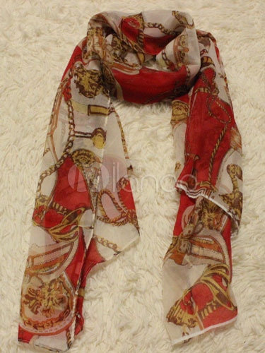 Exotic Style Print Women's Scarf