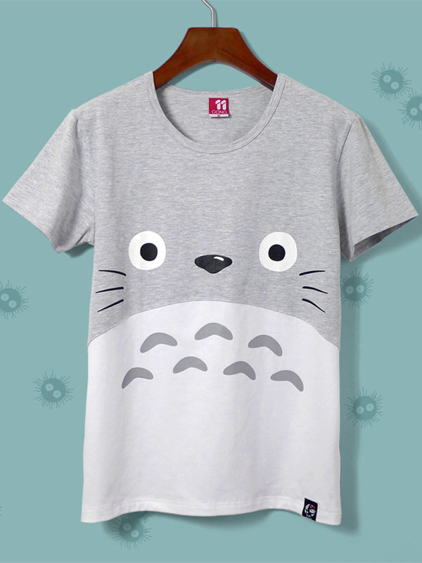 Totoro Cotton Anime T-Shirts  Halloween