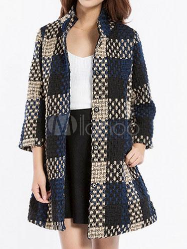 Como hacer abrigo de lana para mujer