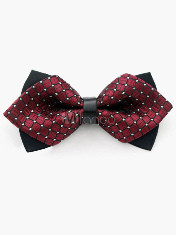 Milanoo / Classic Polyester Mens Bow Tie