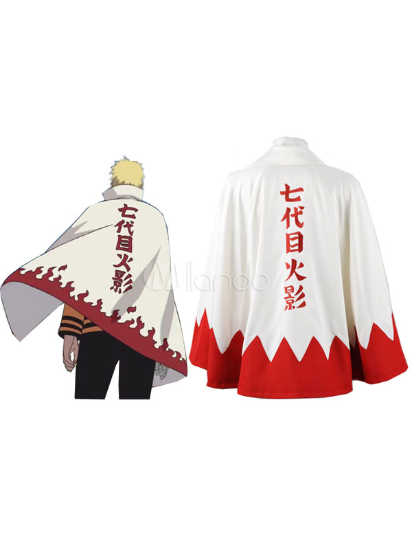 Buy Naruto Uzumaki Naruto Halloween Cosplay Costume Seventh Hokage Halloween for $75.99 in Milanoo store