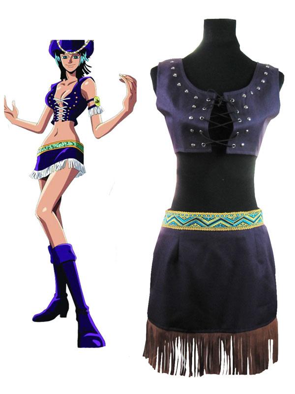 One Piece Nico Robin Halloween Cosplay Costume Halloween