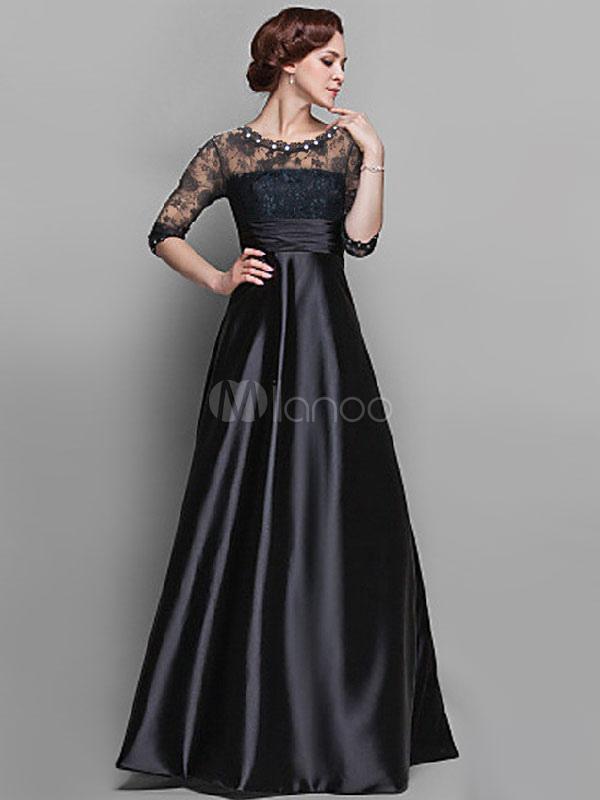 Floor-length Lace Maxi Dress