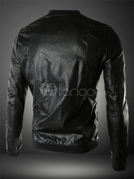 more photos fdbd5 cc979 Slim Fit giacca di pelle per uomo