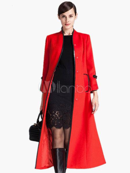 Slim Fit Long Coat