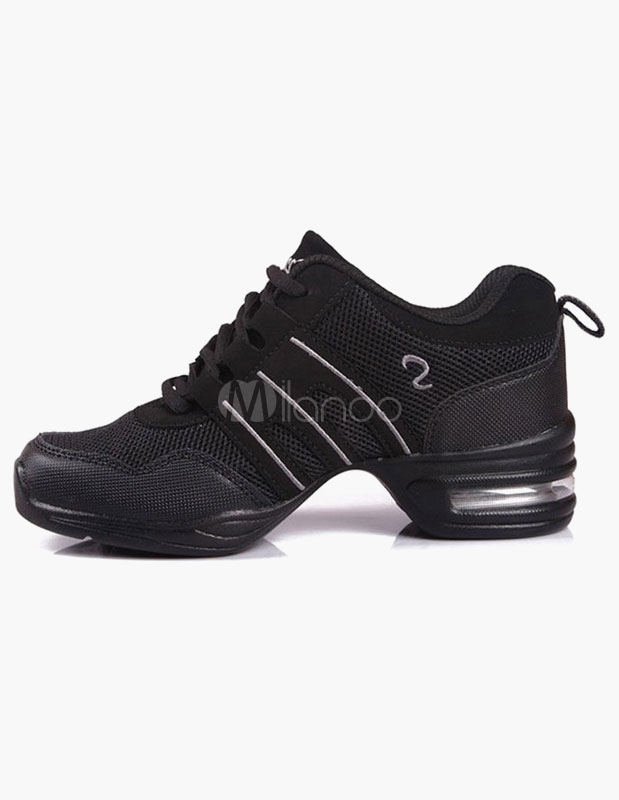 Quality Lace Up Mesh Jazz Shoes