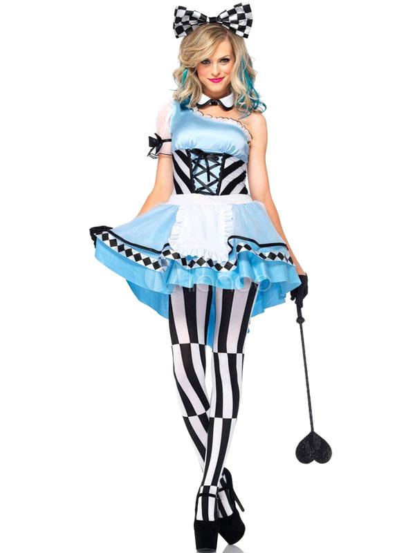 Halloween Sexy Alicia en el País de las Maravillas Disfraz Cosplay ...
