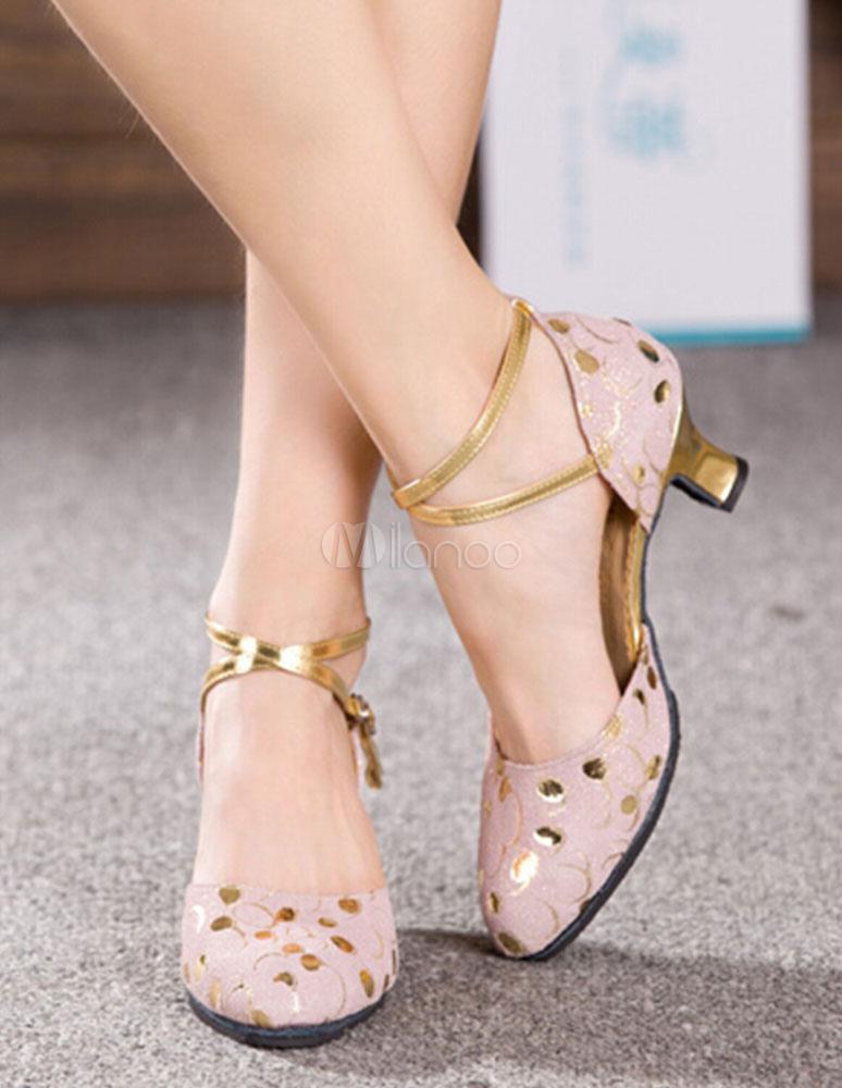 Almond Toe Ballroom Shoes
