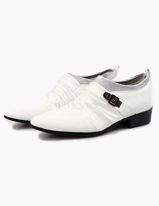 Buy Pointed Toe Elevator Shoes for $31.49 in Milanoo store