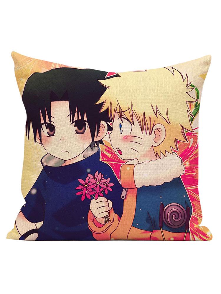 Naruto Sequare Pillow  Halloween