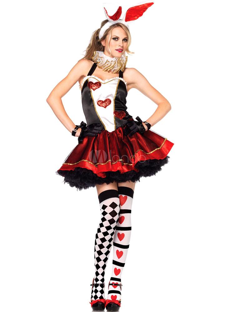 Disfraz Halloween Vestido Reina Traje De Fantasía Para Mujeres Costumeslive Com