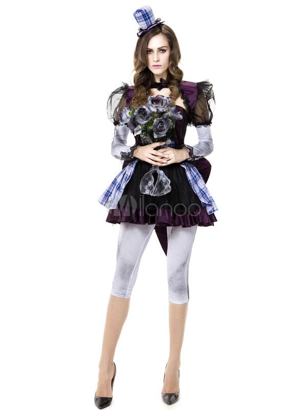 Halloween Sexy Hutmacher Kostüm Alice Im Wunderland Kostüm Cosplay