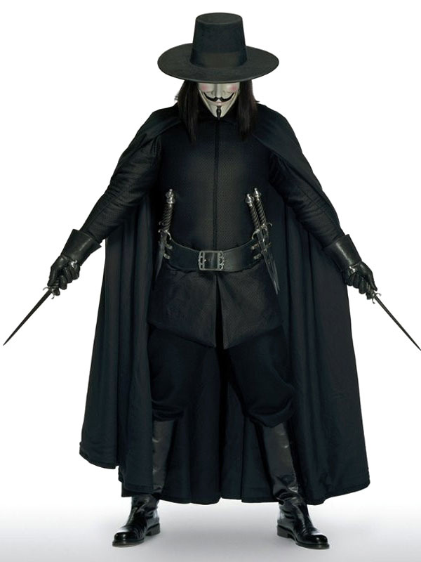 V For Vendetta Guy Fawkes Carnival Cosplay Costume Carnival Milanoo Com