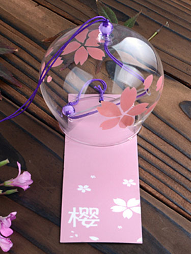 Buy Japanese Traditional Summer Bell Furin Wind Chime Halloween for $8.99 in Milanoo store