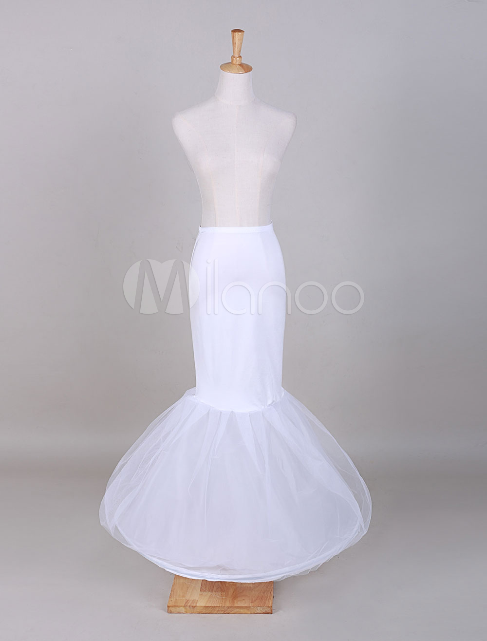 White Tulle Ball Gown Bridal Petticoat