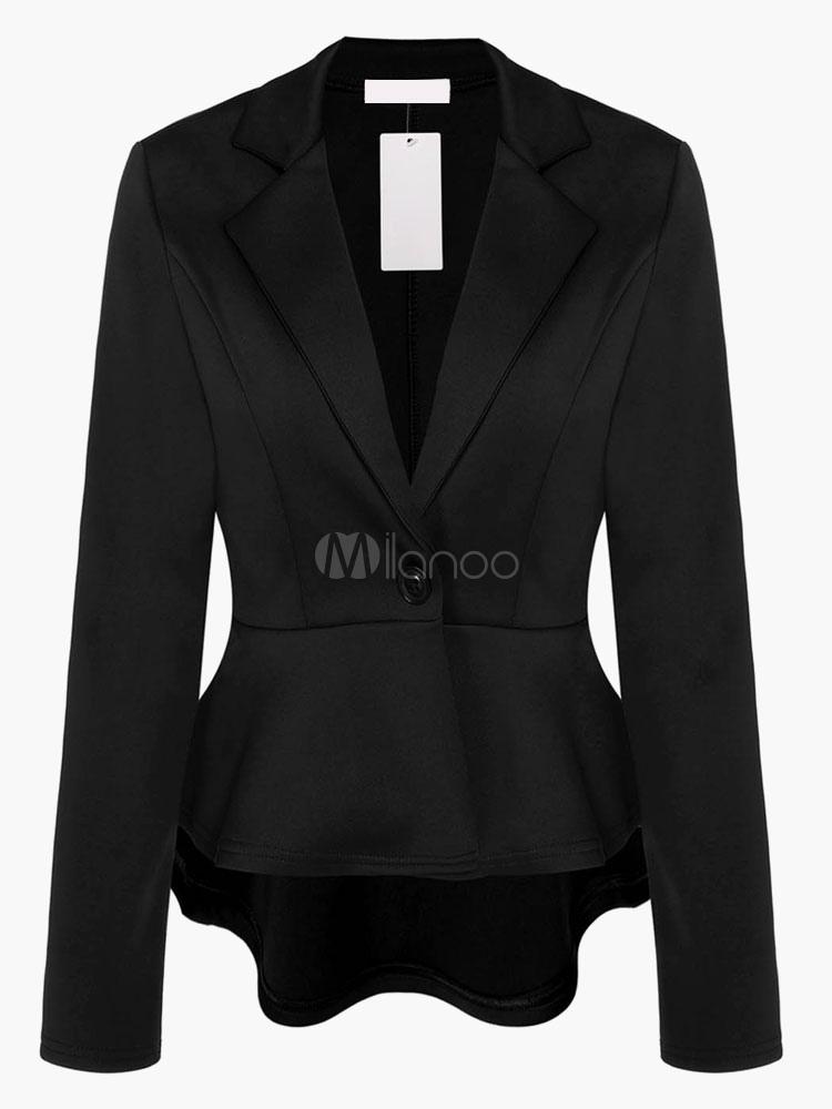 Women Blazer Flora Peplum Blazer Casual Jacket Spring Coat Cheap clothes, free shipping worldwide