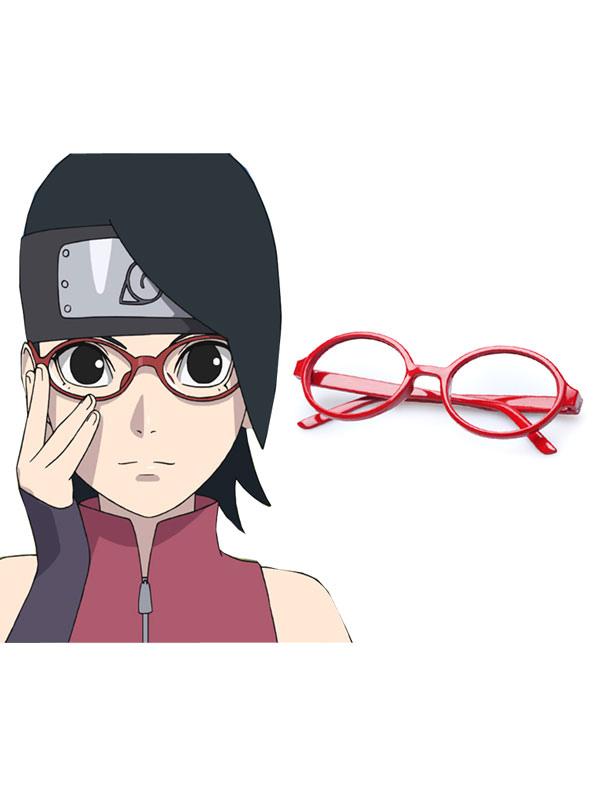 Naruto the Movie Uchiha Sarada Frame Anime Cosplay Accessory Halloween