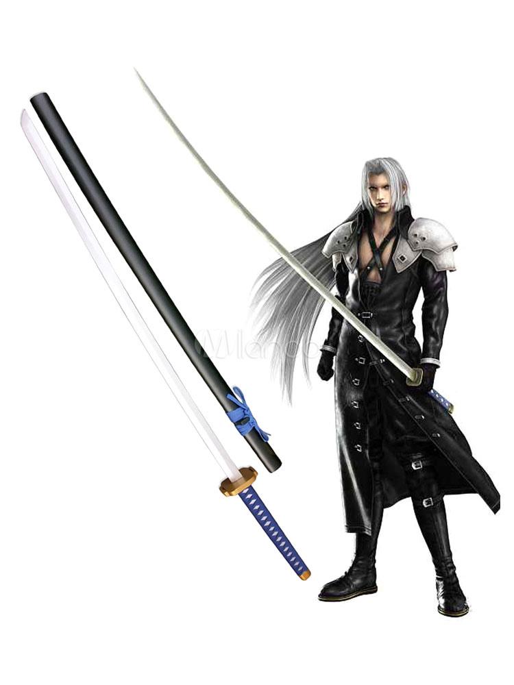 Final Fantasy VII Sephiroth Ōdachi Cosplay Wooden Weapons Halloween