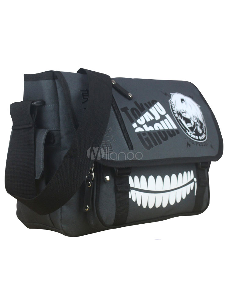 Buy Black Tokyo Ghoul Anime Bag Halloween for $18.89 in Milanoo store
