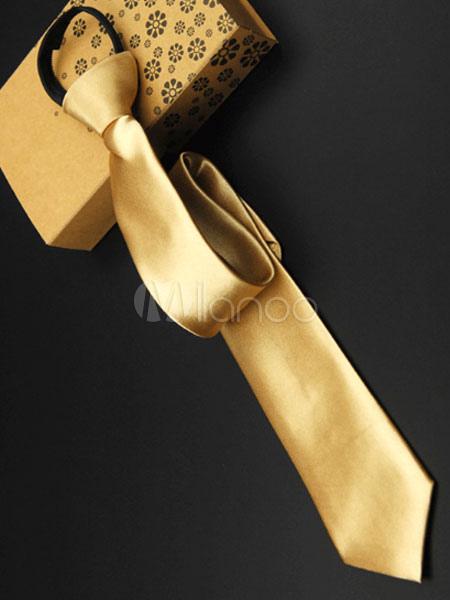 Classic Golden Tie