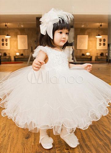 Lovely Organza Flower Girl Dress