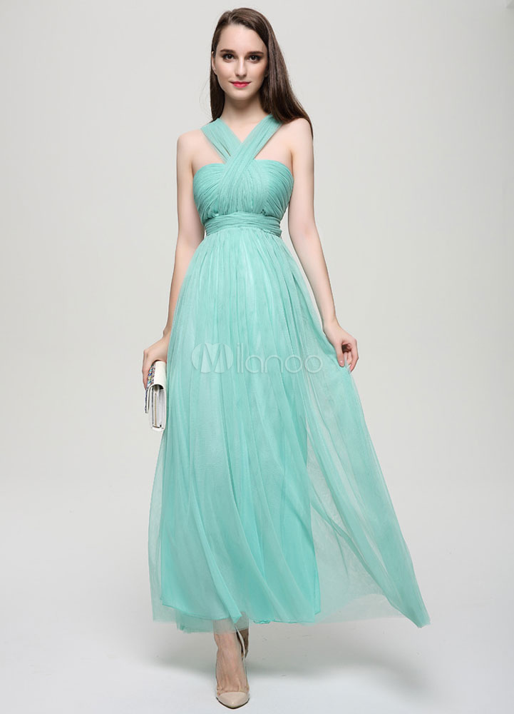 Convertiable Tulle Bridesmaid Dress
