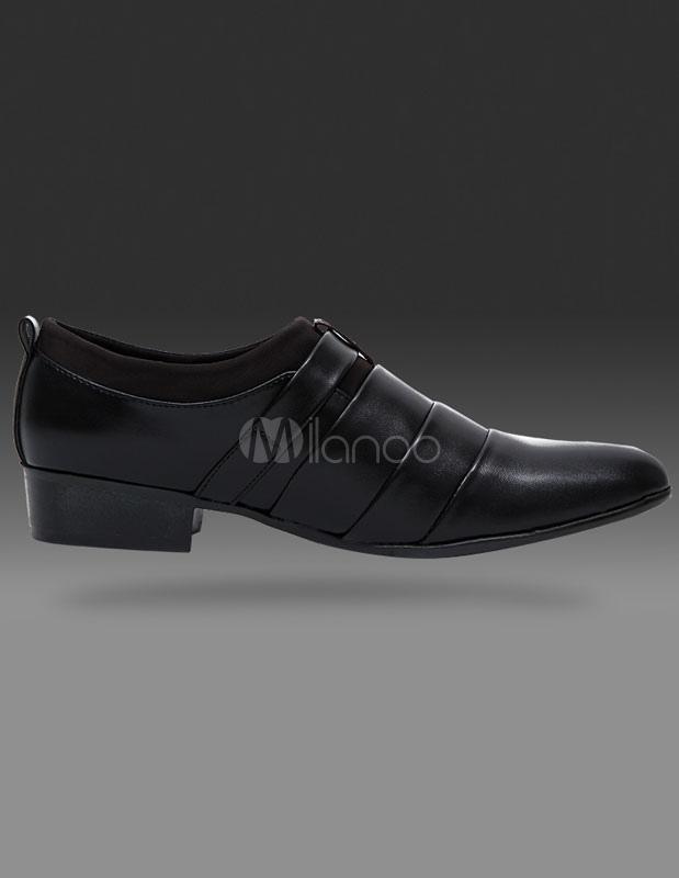 PU cuir chaussures habillées souligné chaussures pour hommes 1tIrS0
