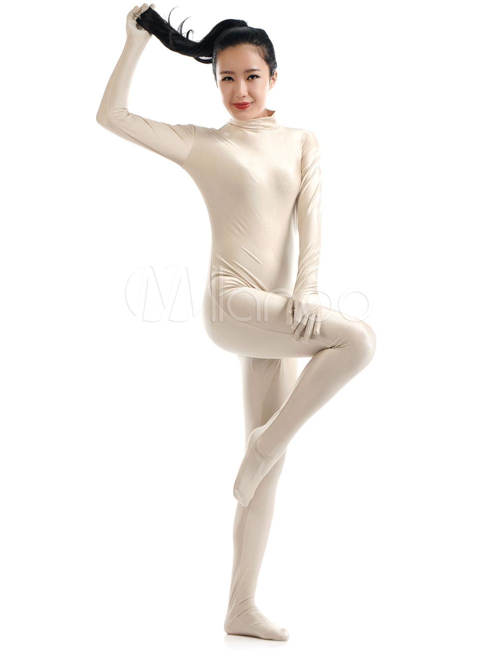 Nude Lycra Spandex Zentai Suit for Women Morphsuits Halloween