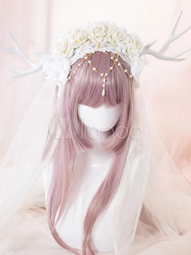 ロリータヘッドドレス