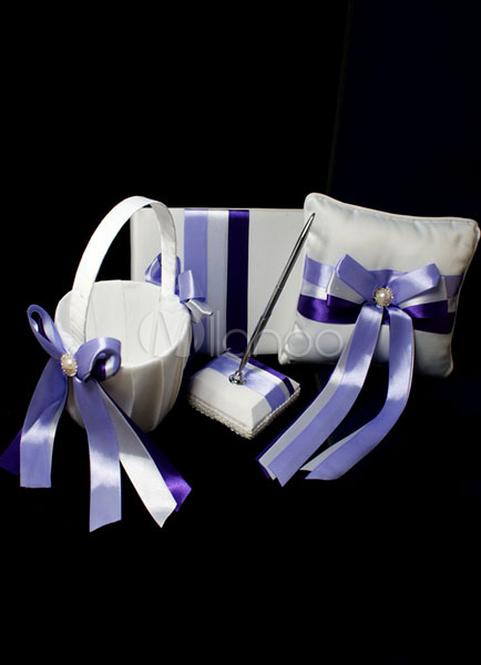 Buy Purple Wedding Collection Set with Butterfly for $52.99 in Milanoo store