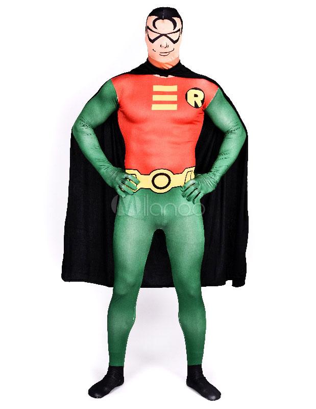 Halloween Multicolor Trendy Superhero Lycra Spandex Zentai Halloween
