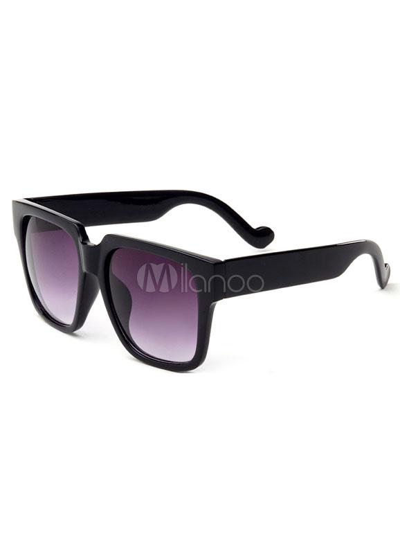 Black&Purple Vintage Frame Plastic Sunglasses Cheap clothes, free shipping worldwide