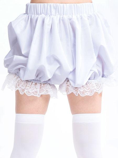 Sweet Lolita Bloomers Lace Trim Ruffles