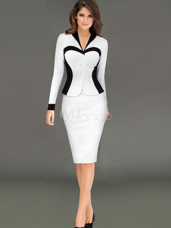 f237bd2e9ce8 Robe tailleur femme chic tenue chic pour femme