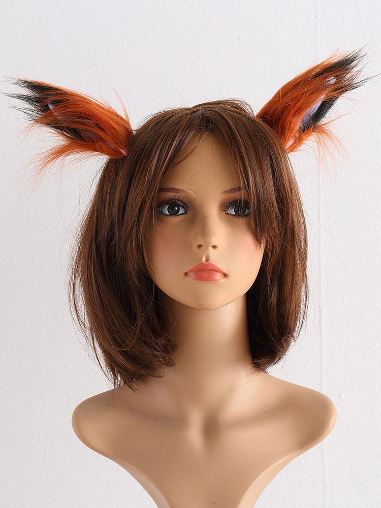Zootopia Nick Wilde Fox Cosplay Ear Orange Synthetic Halloween