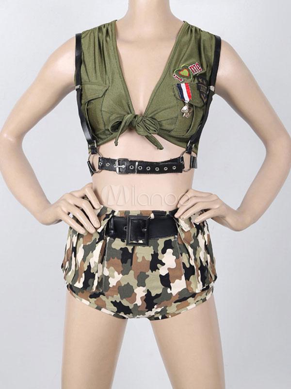del mujeres para algodón Unifrom multicolor camuflaje las militar uniforme  recortada traje No ejército SAAqwd6x1 d13a91a9a30