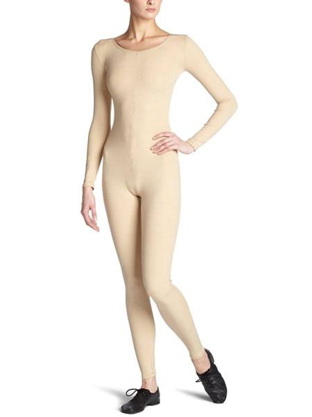 Halloween Nude Zentai Slim Fit Spandex Jumpsuit for Women Halloween