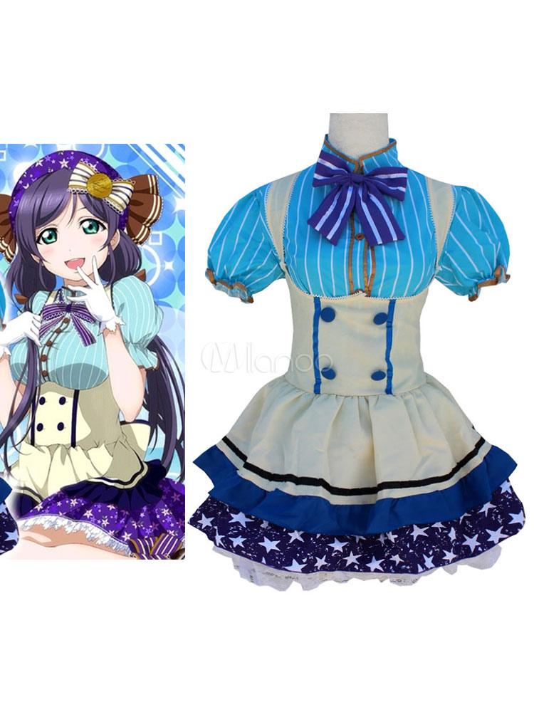 Buy LoveLive! Tojo Nozomi Halloween Cosplay Costume Candy Version Halloween for $29.99 in Milanoo store