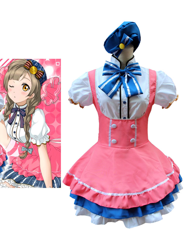 LoveLive! Minami Kotori Halloween Cosplay Costume Candy Version Halloween