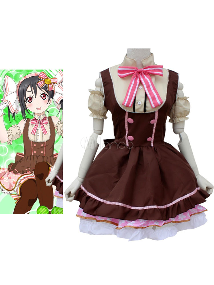 LoveLive! Yazawa Niko Halloween Cosplay Costume Candy Version Halloween