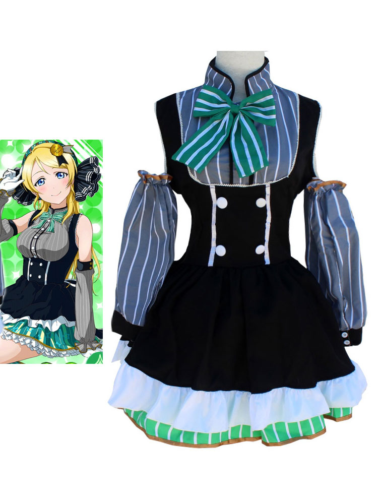 LoveLive! Ayase Eli Halloween Cosplay Costume Candy Version Halloween