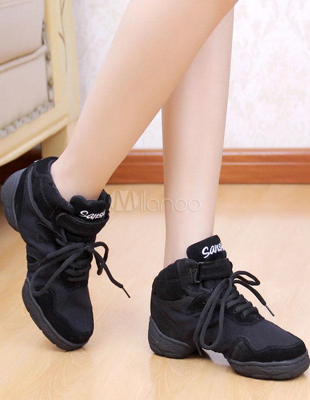 Baile negro zapatos Chic textil zapatos deportivos para mujeres xNFCxu