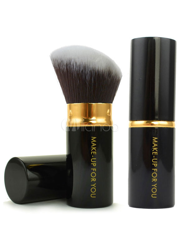 Black Powder Brush Synthetic Fibers Makeup Set Cheap clothes, free shipping worldwide