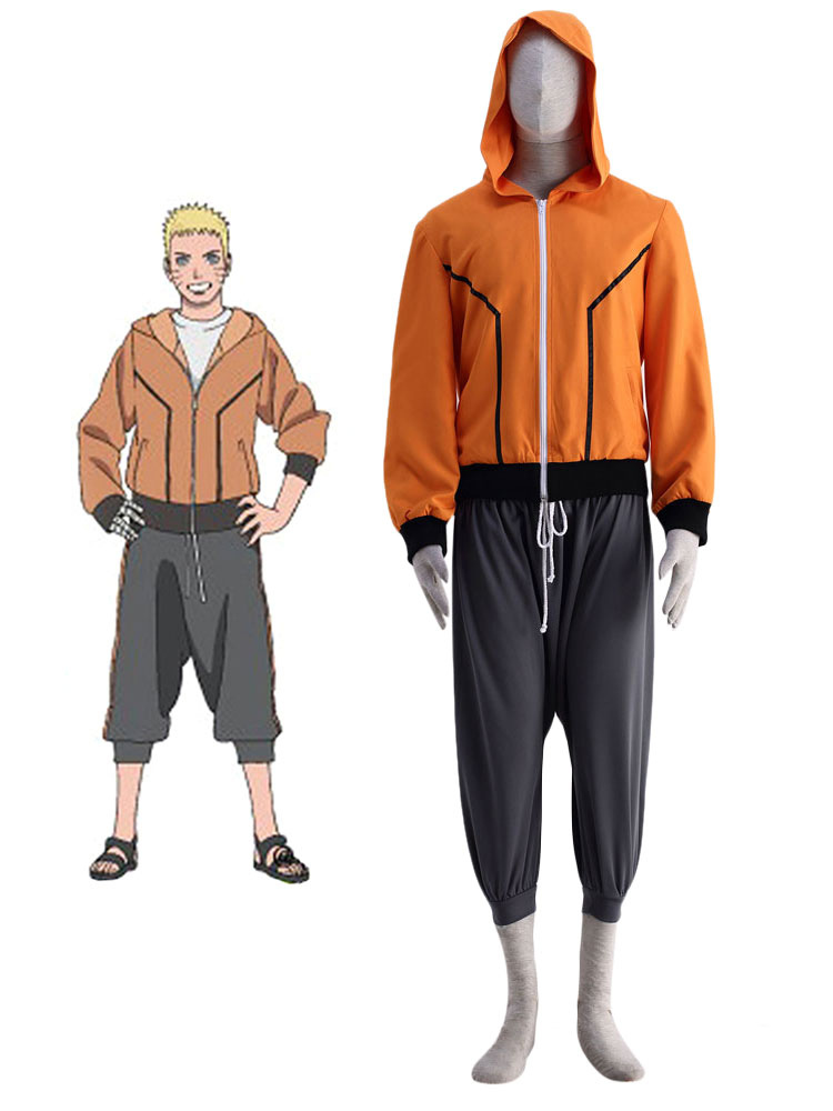 THE LAST -NARUTO THE MOVIE- Naruto Cosplay Costume Halloween